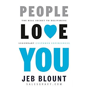 People Love You: The Real Secret to Delivering Extraordinary Customer Service   (Audiobook)
